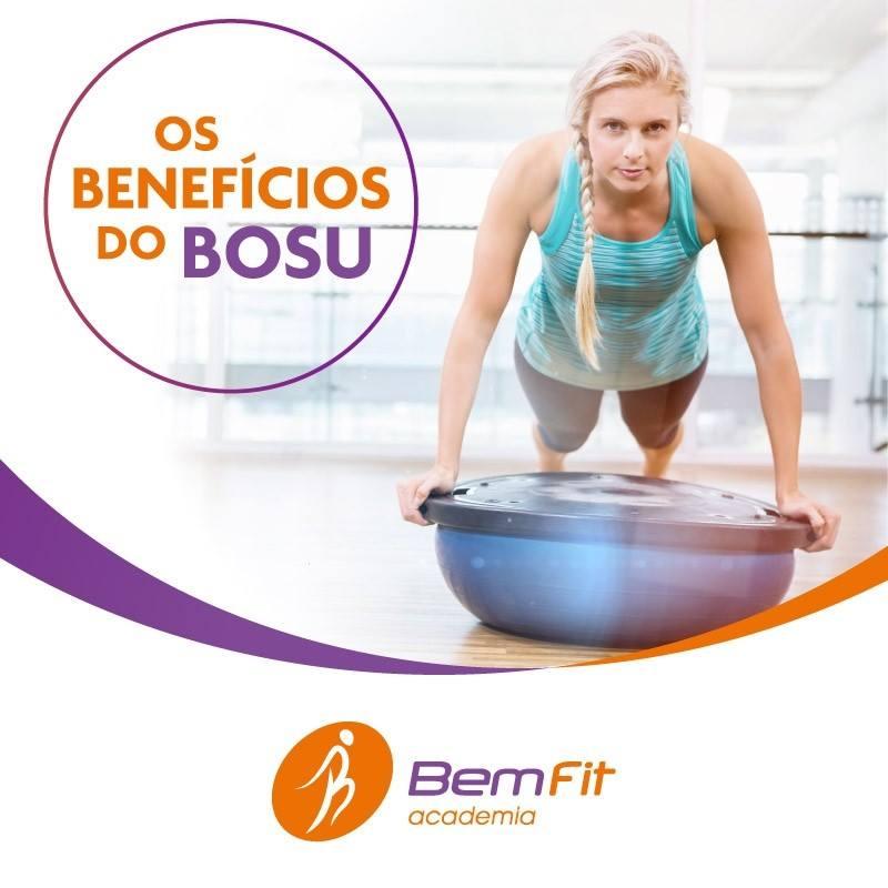 Os benefícios do Bosu